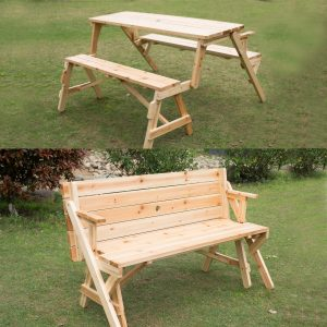 bench convertible picnic